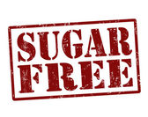 Sugar free stamp — Stock Vector