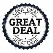 Great deal stamp — Stock Vector #29220709