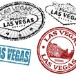 Stock Vector: Las Vegas stamps