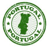 Portugal-stempel — Stockvektor