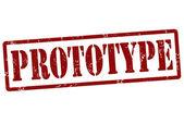 Prototype stamp — Stock Vector