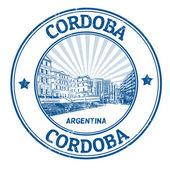 Cordoba stamp — Stock Vector