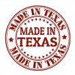 Made in Texas stamp — Imagen vectorial