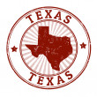 Texas stamp — Stockvectorbeeld