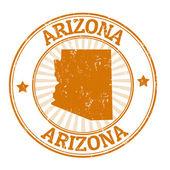 Arizona stamp — Stock Vector