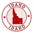 Idaho stamp — Stock Vector
