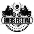 Bikers Festival — Stock Vector