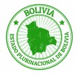 Bolivia stamp — Stock Vector