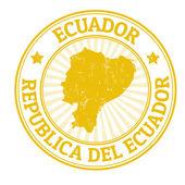 Ecuador stamp — Stock Vector