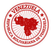 ベネズエラのスタンプ — ストックベクタ