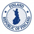 Finland stamp — Stockvector #31004759
