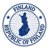 Finland stempel — Stockvector