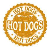 Hot Dog sign — Stock Vector