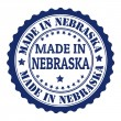 Made in Nebraskstamp — Stock Vector #31115097