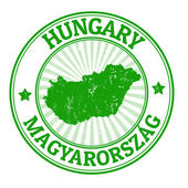 Hungary stamp — Stock Vector