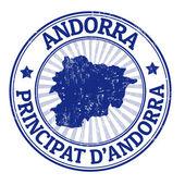 Andorra stamp — Stock Vector