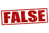 Fałszywe pieczęć — Wektor stockowy