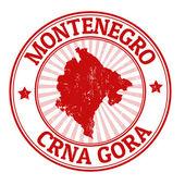 Montenegro stamp — Stock Vector