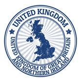 United Kingdom stamp — Stock Vector