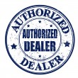 Authorized dealer stamp — Vettoriale Stock #31422207