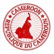 Cameroon stamp — Stock Vector
