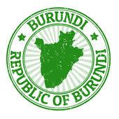 Burundi stamp — Stock Vector