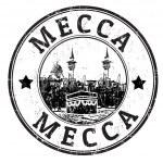 Mecca stamp — Stock Vector
