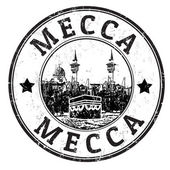 Mecca stamp — Stock Vector