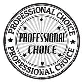 Professional choice stamp — Stock Vector