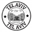 Tel Aviv stamp — Stock Vector