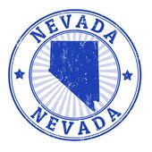 Nevada stamp — Stock Vector