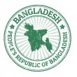 Bangladesh stamp — Stock Vector