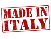 Made in Italy stamp — Stock Vector