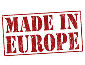 Made in Europe stamp — Stock vektor
