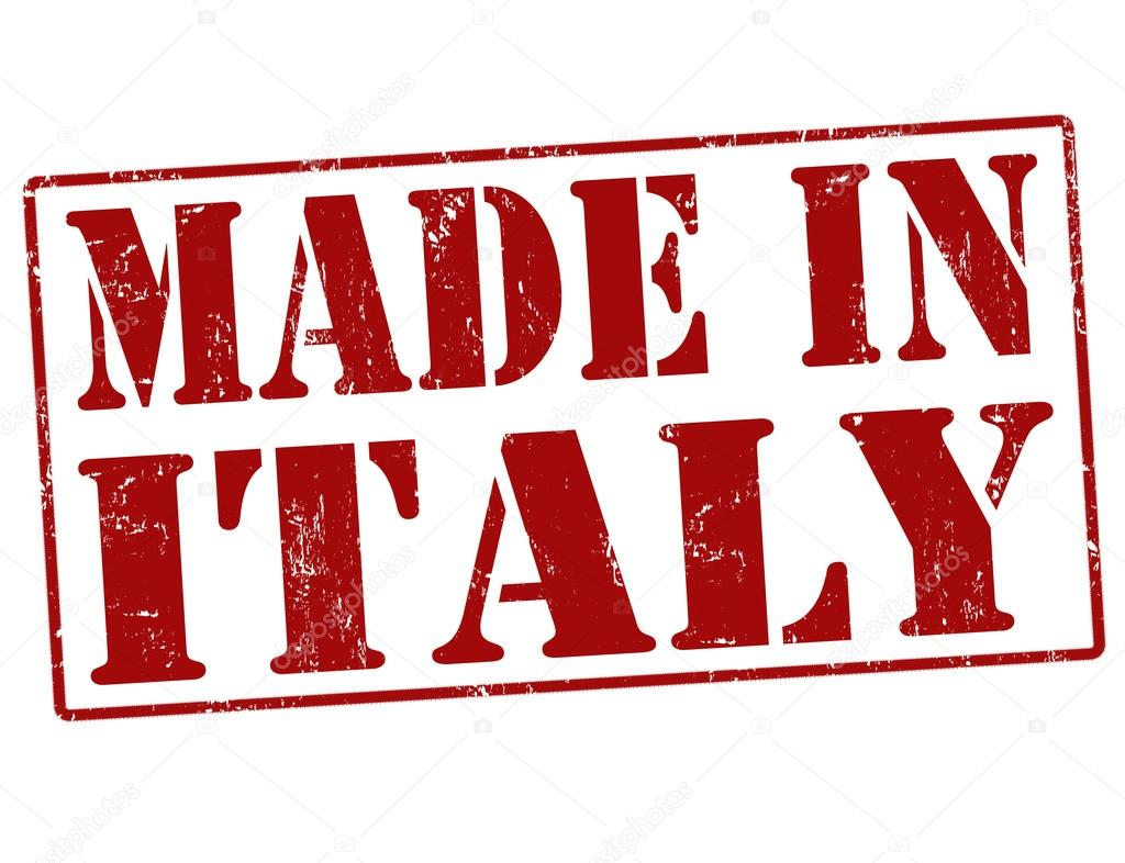Made in italy stamp stock vector roxanabalint 32229337 for Made com italia