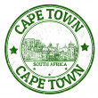 Stock Vector: Cape Town stamp