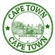 Cape Town stamp — Stock Vector