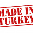 Made in Turkey stamp — Stock Vector