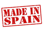 Made in Spain stamp — Stock Vector