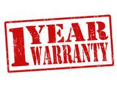 Selo de garantia de 1 ano — Vetorial Stock