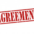 Agreement stamp — Stockvectorbeeld