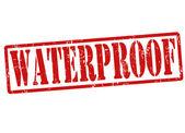 Waterproof stamp — Stock Vector