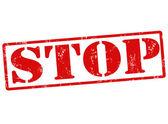 Stop stamp — Stockvektor