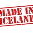 Made in Iceland stamp — Stock Vector #32756913