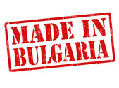 Made in Bulgaria stamp — Vettoriale Stock