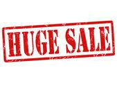 Huge sale stamp — Stock Vector