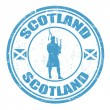 Scotland stamp — Stock Vector