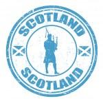 Scotland stamp — Stock Vector #33220371