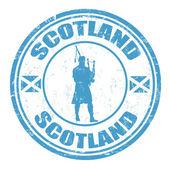 Schotland stempel — Stockvector