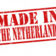 Made in The Netherlands stamp — Stock Vector #33334175
